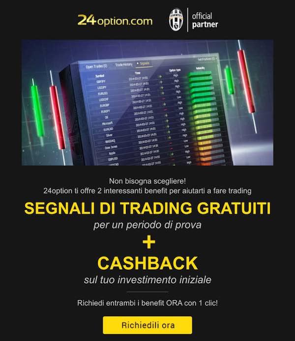 24Option Segnali di Trading