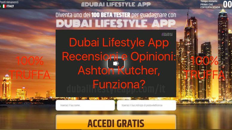 Dubai Lifestyle App Recensioni e Opinioni: Funziona?