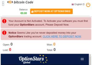 bitcoin code è una truffa