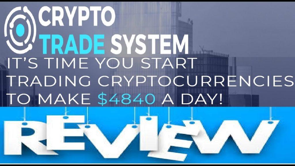 Crypto Trader System funziona o truffa? Recensioni e opinioni