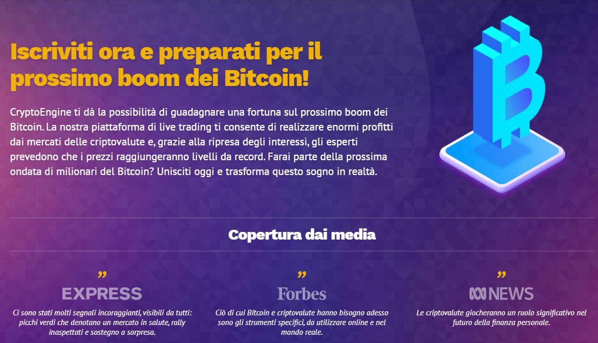Crypto Engine Boom Bitcoin
