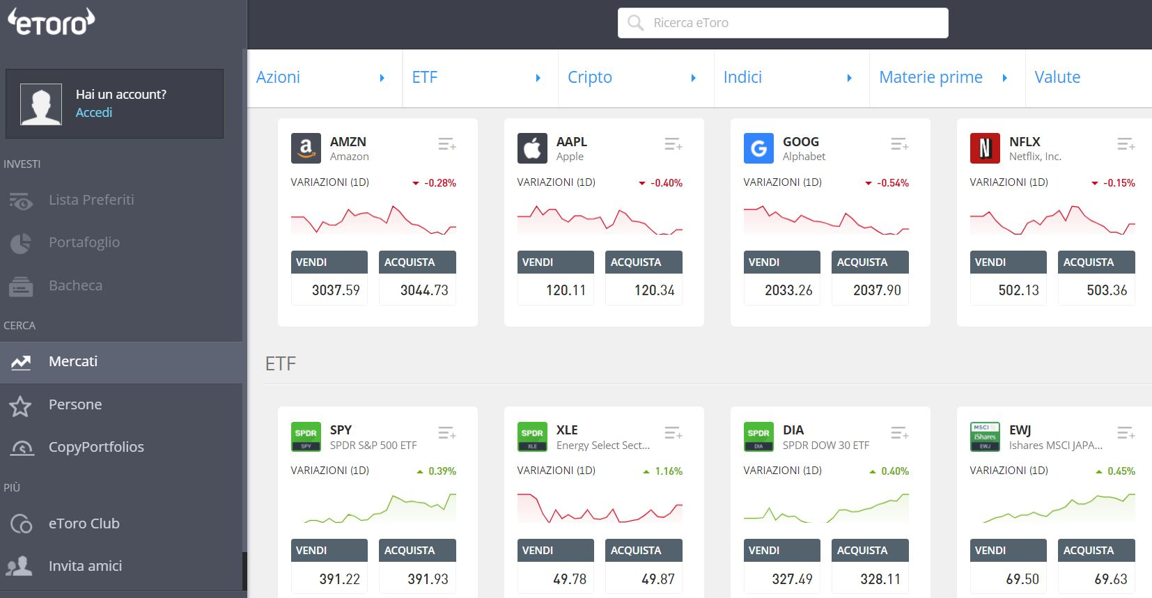 Software trading gratis etoro