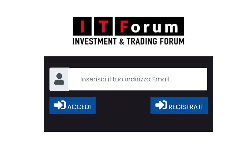 ITForum : Come iscriversi