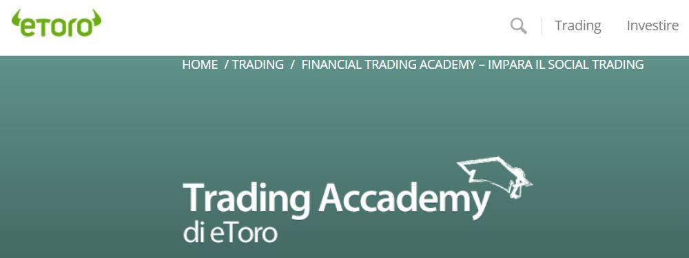 eToro e la trading academy