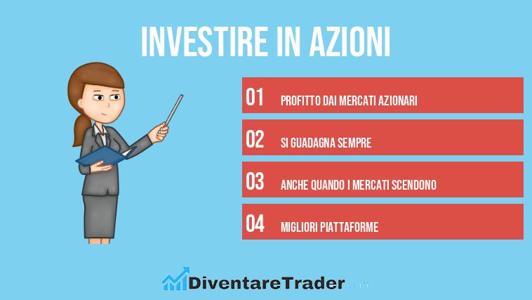 piattaforme per investire in azioni