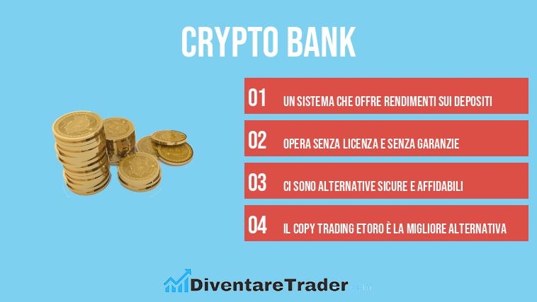 Crypto Bank è sicuro o è una truffa? La recensione completa